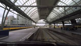 Download [cabinerit] A train driver's view: Eindhoven - Alkmaar, VIRM, 22-Apr-2015. Video
