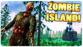 Download New Zombie Survival Game, Beautiful Low Poly!   Grimtale Island Gameplay Video