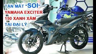 Download Yamaha dồn dập ra Exciter mới kỷ niệm 1 triệu xe, Exciter màu xanh xám về đại lý Video