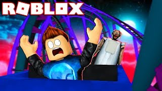 Download ESCAPA DE GRANNY EN LA MONTAÑA RUSA DEL HORROR !! - Roblox Video