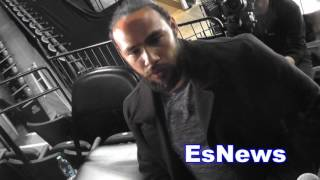 Download Keith Thurman Reaction To Floyd Mayweather Saying He's Ducking Spence EsNews Boxing Video