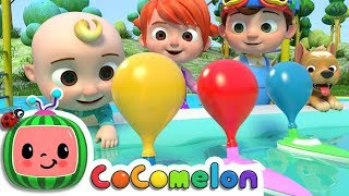 Download Balloon Boat Race | Cocomelon (ABCkidTV) Nursery Rhymes & Kids Songs Video