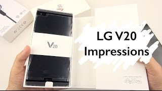 Download LG V20 Unboxing & Impressions (preview unit): Questions Anyone?! Video