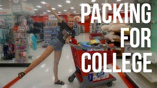 Download PACKING FOR COLLEGE + DORM SHOPPING!! Video