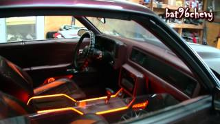 Download STITCHED BY SLICK: '87 Monte Carlo SS on 24″ DUB 2pc. Wheels, ORANGE/BURGUNDY Interior - 1080p HD Video