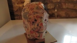 Download DIY Mannequin Head Video
