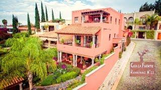 Download House for Sale San Miguel Allende :: Casa La Fuente Video