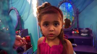 Download MERMAID TAIL TRANSFORMATION! Everleigh and Ava become real mermaids with the Golfieri TWINS! Video