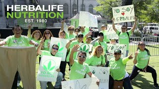 Download Herbalife Rally in Los Angeles Creates a Sea of Green in Front of L.A. City Hall Video