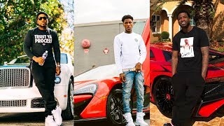 Download Rappers Showing Off Their Expensive Cars, Jewelry and Money 2018 (NBA YoungBoy Moneybagg Yo Kodak) Video