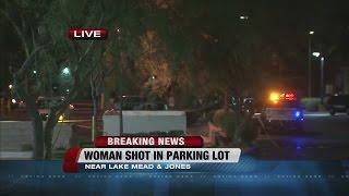 Download Woman found fatally shot behind Walgreens in northwest Las Vegas Video