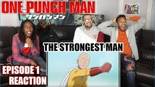 Download THE STRONGEST MAN! ONE PUNCH MAN EPISODE 1 REACTION/REVIEW Video