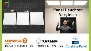 Download Vergleich und Test: LED Panel Leuchten für Rasterdecken - Die beste Deckenleuchte für Ihr Büro Video