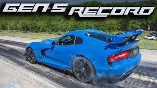 Download 1500HP TT Viper - 1/2 Mile Speed Record! Video