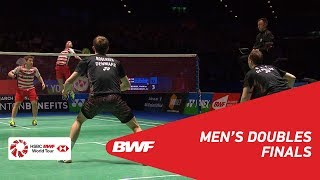 Download MD | GIDEON/SUKAMULJO (INA) [1] vs BOE/MOGENSEN (DEN) [2] | BWF 2018 Video