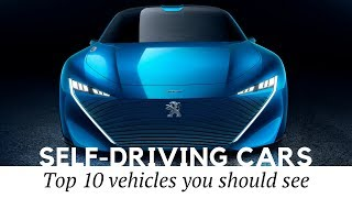 Download Top 10 Self-Driving Electric Cars and Autonomous Vehicles Coming in 2020-2050 Video