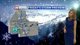 Download Pikes Peak region forecast Video