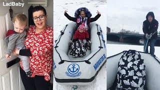 Download It's mums birthday...and the snow boat saves the day 👑❄️ Video