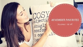 Download November Favorites | December Video #1 Video