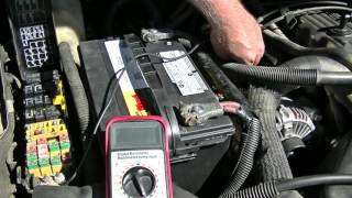 Download Alternator problems? Do a Fusible link test first Video