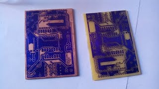 Download MAKING OF DOUBLE SIDED PCB USING PHOTO SENSITIVE FILM (Photoresist Dry Film) Video