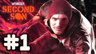 Download InFamous: Second Son - Gameplay - Part 1 - Walkthrough / Playthrough / Lets Play Video