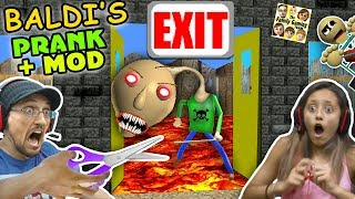 Download BALDI'S BASICS NO EXIT ESCAPE + PRANK & MOD! FGTEEV RAGE Teacher Ending! (Education & Learning #2) Video
