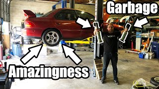 Download Miss Jackson Gets BALLER Coilovers and Crashing at League Night! Video