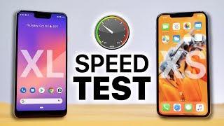 Download Pixel 3 XL vs iPhone XS Max SPEED Test! Video