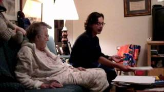 Download 14 minutes of a night with my Grandmother who has dementia. Video