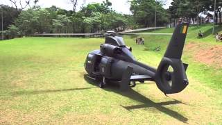 Download Start e decolagem helicoptero Pantera 2028 EB, exercito em Jaguariuna-SP 09/11/2013 HD Video
