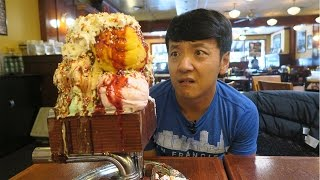 Download MASSIVE Kitchen Sink ONE GALLON Ice Cream Sundae Challenge! Video