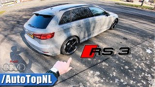 Download Audi RS3 Sportback 2018 REVIEW POV Test Drive on AUTOBAHN by AutoTopNL Video