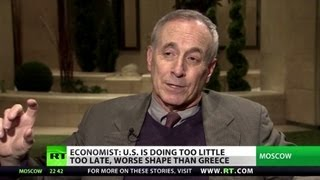Download 'US hides real debt, in worse shape than Greece' Video