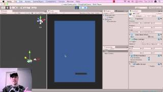 Download Unity tutorial (beginner) - Pong Game - How To Make Mobile Games (iphone and android) - part 2B Video