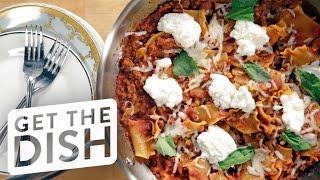 Download One-Pot Skillet Lasagna Recipe | Get the Dish Video