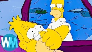 Download Top 10 Times The Simpsons Went Too Far Video