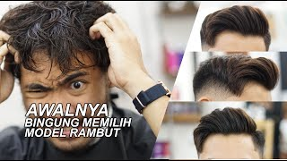 Download Bingung pilih model rambut? Coba pake model ini | Side Part with Natural Look Video