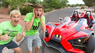 Download SURPRISING MY BROTHER WITH HIS DREAM TOY!! Video