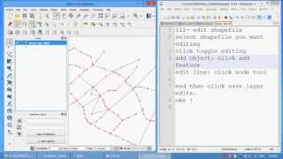 Download [QGIS tutorial] - Create and edit shapefile. Video