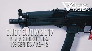 Download Shot Show 2017: Kalashnikov USA K9 Series/KS-12 Video
