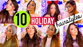 Download 10 QUICK and EASY Hairstyles for the Holidays! Niki and Gabi Video