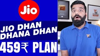 Download Jio Diwali Dhamaka Offer - New 459 Rs PLAN? Latest Plan Details Video