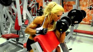 Download LORENA IÑARRA 2010 - ENTRENAMIENTO DE BICEPS.avi Video