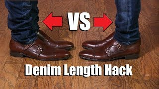 Download Denim Leg Length Hack EVERY Guy Should Know! Video