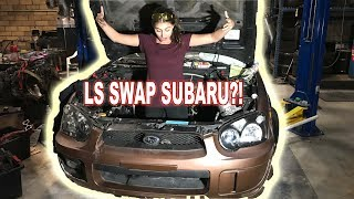 Download LS3 SWAPPING THE WRX?? Video