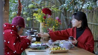 Download Boil soybean milk, steamed purple potato cake, eating a good breakfast is a must|Liziqi Channel Video