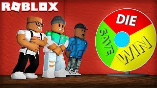 Download WILL YOU WIN, DIE OR BE SAVED IN ROBLOX!? (Wheel of Fortune) Video