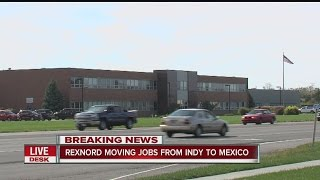 Download Rexnord moving jobs from Indy to Mexico Video