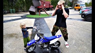 Download Tydus SURPRISES Jake Paul With A MINI DIRTBIKE For His Birthday!! Video